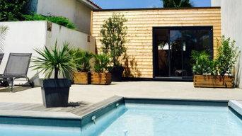 Studio pool house