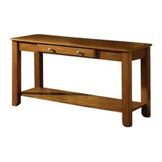 Nelson Sofa Table, Oak