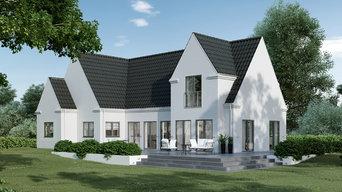 Klassisk byggestil hos Arkhouse A/S