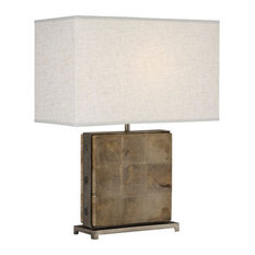 Robert Abbey Oliver Mango Wood Table Lamp