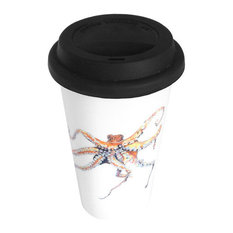 11oz Travel Mug, Out of the Blue Octopus