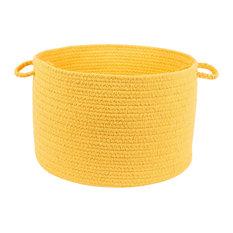 """Rhody Rug Wear Ever Daffodil Poly 18""""X12"""" Basket"""