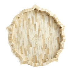 Mirage Tray Collection, Natural Finish, Large