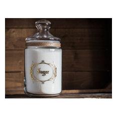 SUGAR Apothecary Kitchen Pantry Jar