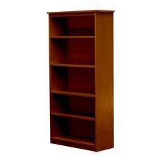 Lexington Bookcase, 12x30x60, Colonial Maple