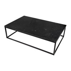 """Prairie 47""""x30"""" Coffee Table With Marble Top"""