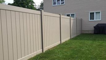 PVC/Vinyl Fence work 2017 - 2018