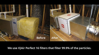 Homeowner wanted cleanest air possible in his house