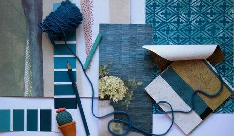 Colore del Mese: Blu Pavone