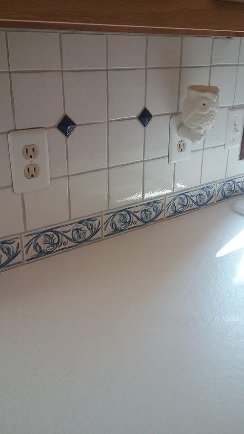 Kitchen Cabinets Trim And Back Splash
