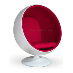 Ball Chair   Pink + Speaker   Armchairs And Accent Chairs