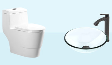 Up to 60% Off Bathroom Sinks, Faucets and Essentials