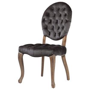 Stella Gray Velvet Dining Chair