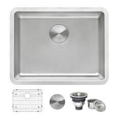 Ruvati 23-inch Undermount Kitchen Sink 16 Gauge Single Bowl - RVM5908