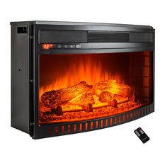 """AKDY Home Improvement - AKDY 26"""" Freestanding Electric Fireplace Heater Temperature Control With Remote - Indoor Fireplaces"""
