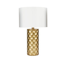 50 most popular contemporary table lamps for 2018 houzz silverwood the hive gilded table lamp with shade table lamps aloadofball Choice Image