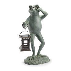 Professor Frog LED Garden Lantern
