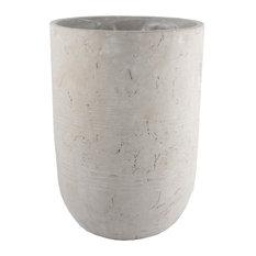 Worthy Outdoor Plant Pot, Natural Concrete