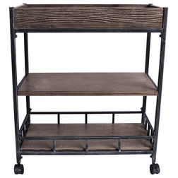 Industrial Kitchen Islands And Kitchen Carts by Armen Living