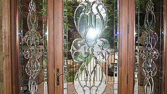 Samples of various designs and applications in Stained Glass.