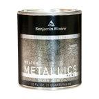 Benjamin Moore Studio Finishes Molten Metallics (621), Silver