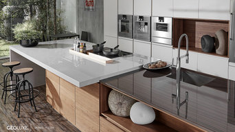 Geoluxe Eramo & Nestos Gray (Polished) Kitchen Installation