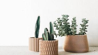 Planter style scandinave