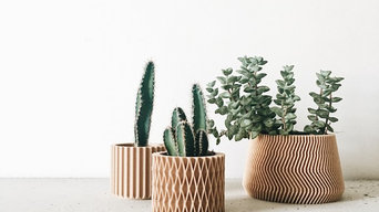 Planter style scandinave