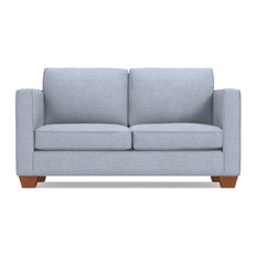Apt2B - Catalina Apartment Size Sleeper Sofa, Performance Glacier, Deluxe Innerspring Ma - Sleeper Sofas