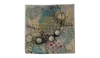 Handmade Ceramic Tile Wall Plaque III