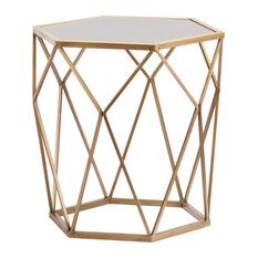 Lynne Geometric Accent Table