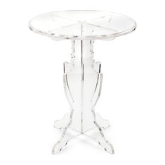 imax worldwide home prestige acrylic accent table side tables and end tables