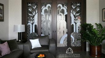 Двери в стиле Art-Deco