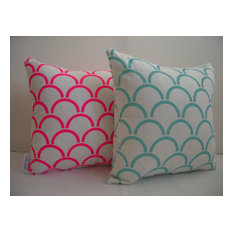 Cushion Cover Arches Design, Fluro Pink by Aqua Door Designs