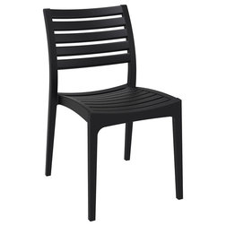 Transitional Outdoor Dining Chairs by BisonOffice