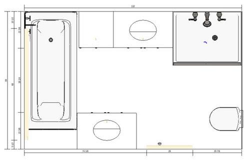 Wondrous Need Help Evaluating Different Bathroom Layouts Interior Design Ideas Skatsoteloinfo