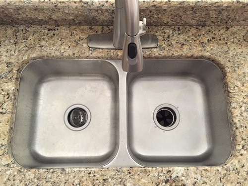Need help with non-standard kitchen sink replacement on granite