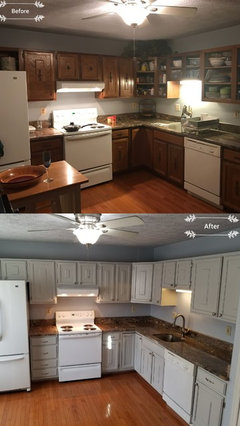 For This Price Should I Hire Or DIY Paint Kitchen Cabinets - Who to hire to paint kitchen cabinets