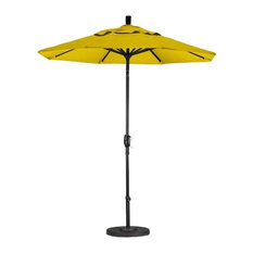 California Umbrella 7.5' Patio Umbrella in Sunflower Yellow