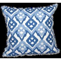 "Hipster, Geometric Outdoor Pillow, Blue, 18""x18"""