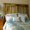 Make Your Own Rustic-Chic Headboard From Salvaged Doors