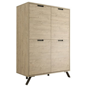 Parma Highboard, Light Oak