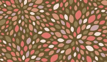 Chic Shelf Paper Flower Burst Shelf Paper & Drawer Liner