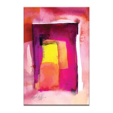 Watercolor Abstraction 212, Canvas Print