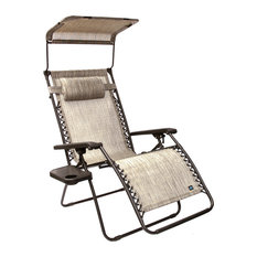 Gravity Free Chair X-Wide WSun-Shade and Cup Tray