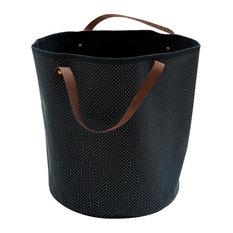Canvas Storage Basket, Dots