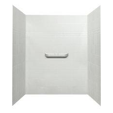 Alexa Acrylic Alcove Shower Wall