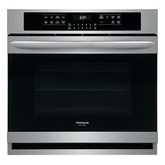 Frigidaire 30 Inch 5.1 cu. ft. Total Capacity Electric Single Wall Oven, Smudge