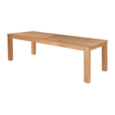 1st Avenue - Wilhelm Wooden Outdoor/Indoor Dining Table - Outdoor Dining Tables