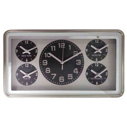 Midcentury Wall Clocks by EMDE